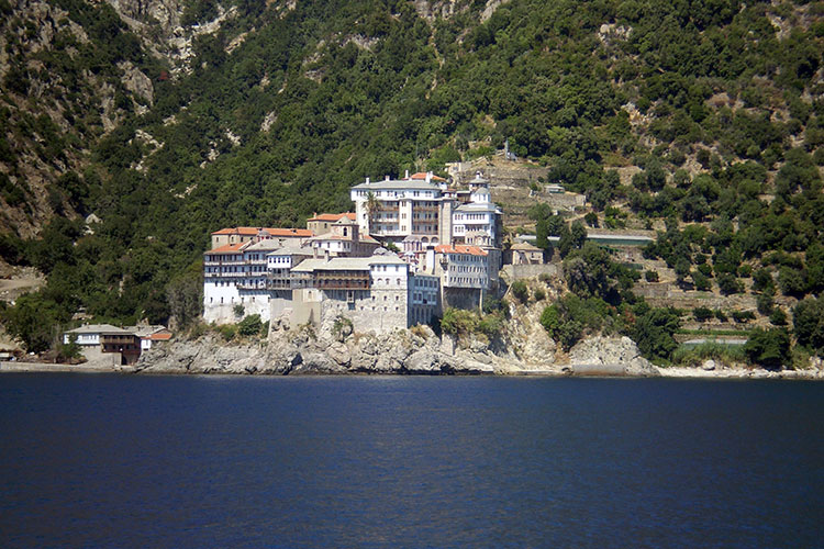 Mount Athos - Garden of Virgin Mary