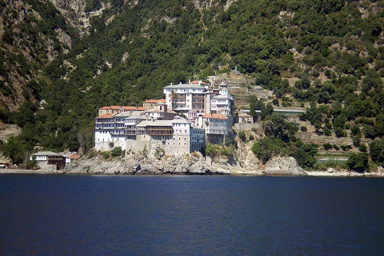 Mount Athos -Gardenof Virgin Mary